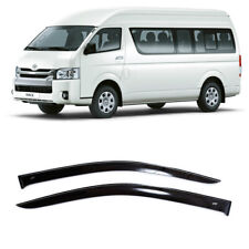 For Toyota HiAce (H200) 2004-2019 Window Visors Sun Rain Guard Vent Deflectors