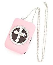 PINK Leatherette Country Western Women's Phone Clutch Crossbody Wallet Purse