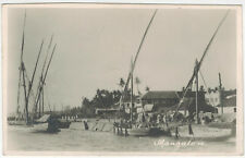PhC, Sailships in Mangalore Harbour, India, 1920s (?)