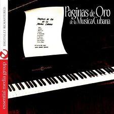 Carlos Manuel Santan - Paginas de Oro de la Musica Cubana [New CD] Manufactured
