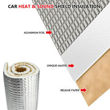 25sqft Car Sound Deadening Material Soundproofing Foam Backed Adhesive 90
