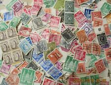 R200418) Alliierte Besetzung.  500 Briefmarken. Kiloware ohne Papier