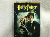 HARRY POTTER Y LA CAMARA SECRETA 2 X DVD VERSION PANORAMICA EXTRAS PUZZLES Y +