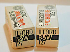Ilford Selochrome Black & White 127 Film Expired Lot of 2 Rolls