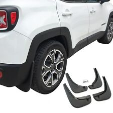 Jeep Renegade Mud Flaps 2015-2018 Guards Splash Shield Molded 4 Pc Front Rear