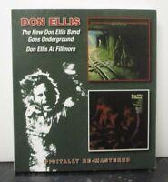 DON ELLIS ~ New Don Ellis Band Goes Underground At Fillmore ~ 2 x CD ALBUM