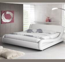 Letto Matrimoniale Alessia in Colore Bianco (180x200cm)