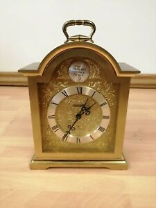 Swiza Tempus Fugit Solid Heavy Brass Carriage Clock - NOT WORKING
