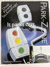 Measurement Specialties Park Zone Platinum Edition Pz-1500 Parks Cars Garage.