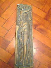 VINTAGE DECORATIVE LADY WALL PLAQUE FRENCH