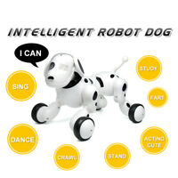 7seas® RC Smart Dog Sing Dance High Tech Remote Control PET TOY Educational UK
