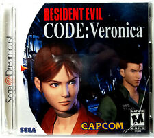 Resident Evil Code Veronica (Dreamcast) Complete - Clean,Tested & Fast Shipping