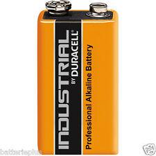 10 Stück Duracell 9V Block Industrial (ehemals Plus/Procell) 6LR61 Alkaline