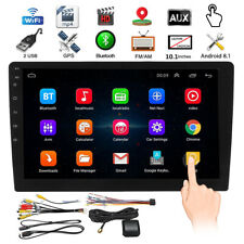 10.1'' MP5 Player GPS Double 2 DIN WIFI Android 8.1 Car Stereo Radio Video Touch