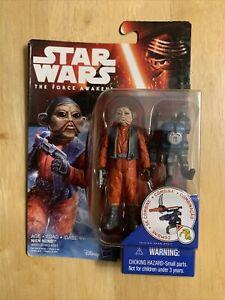 "Star Wars The Force Awakens Nien Nunb 3.75"" Action figure New"