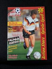 Sammelalbum Fußball WM 1994 Ferrero Hanuta Duplo komplett beklebt, TOP Zustand