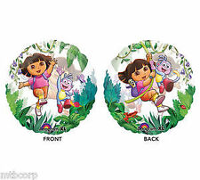 Dora The Explorer & Boots See Thru Clear Birthday Party Balloon Decorations