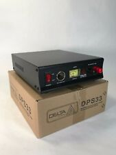 Power Supply 33 Amp 12-13.8v AC/DC w/ Volt AMP Meter DELTA DPS33 Ham CB Radio