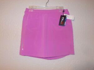 RLX Ralph Lauren Purple Wicking Stretch Golf Skort Size Small $128