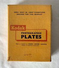 SEALED Full Box 12 Kodak M.R Max Resolution Scientific Photo Film Plates