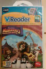 v_reader cartridge madagascar 3 vtech