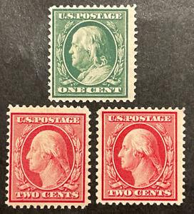 TDStamps: US Stamps Scott#332 (2) 331 Unused NG