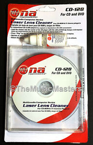 Microfiber Double Brush Pro LASER LENS CLEANER Cleaning Disc CD DVD Blu-Ray PS4