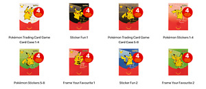 Official McDonald's Happy Meal Toy Character Pokemon Trading Card Game 2021