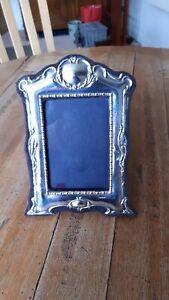 Silver Victorian Photograph Frame