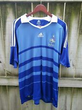 Adidas French National Team Soccet Jersey Size 2XL Blue World Cup FFF France 09
