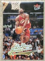 LeBRON JAMES 2004-05 Fleer Ultra (2nd Year Card) #114 Cleveland Cavaliers NBA