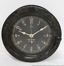 Vintage Antique Seth Thomas US Navy Ships Clock No 25661