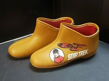 VINTAGE 1968 STAR TREK SPOCK KIDS SLIPPERS PARAMOUNT PICTURES SIZE 10