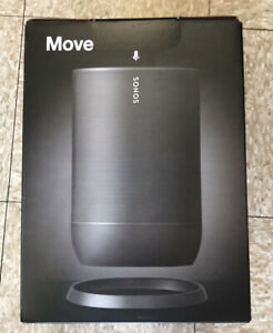 Sonos Move (Black) Portable Wi-Fi and Bluetooth Speaker