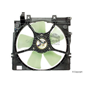 One New Performance Radiator Engine Cooling Fan Motor 600350 45121AC000