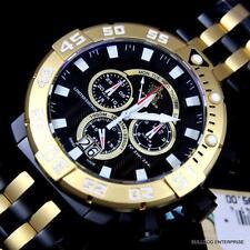 Invicta Sea Base Black Titanium Sapphire LE Swiss Made Chronograph Watch New