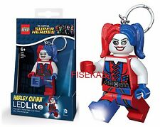 LEGO DC Comics Batman- Harley Quinn Key Light LED Lite Keychain 2016 Santoki NEW
