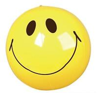 """SMILEY FACE BEACH BALL 16"""" Pool Party Beachball NEW #AA25 Free Shipping"""