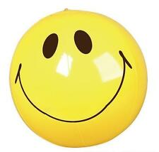 """SMILEY FACE BEACH BALL 16"""" Pool Party Beachball NEW #ST7 Free Shipping"""