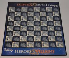 Walt Disney Heroes and & VILLAINS Chess Set-Board ONLY. Spares Replacement