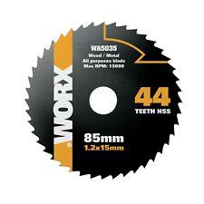 WORX WORXSAW 85mm, 44 Tooth HSS Blade