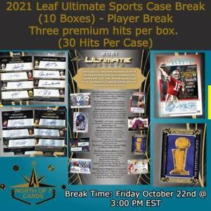 Errol Spence Jr. 2021 Leaf Ultimate Sports 1X Case 10X Boxes Player Break #2