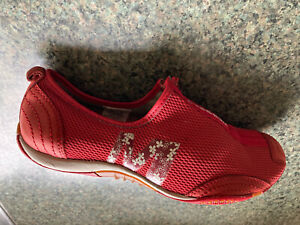 Merrell Barrado Womens Comfortable Flat Casual Zip Shoes - Leather