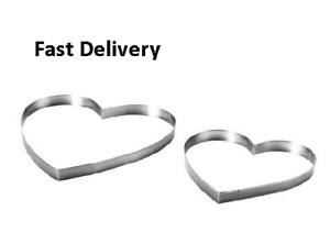 IKEA Vinter 2018 Pastry Cookie Cutter, Set of 2, Love Heart, Christmas,Valentine