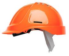 Scott HC600V Protecteur aéré casque de sécurité Solide Chapeau Bandeau Hi Vis