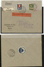 Switzerland   168, B40 on  registered cover  1927  from Zumstein      KL0805