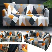 1/2/3 Seater High-Elastic Sofa Covers Slipcover Settee Stretch Couch Protector