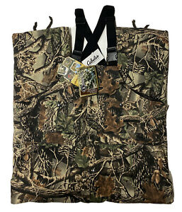 Cabela's Bow Hunter Insulated Bibs Pants Mens 2XL Seclusion Camouflage NWT