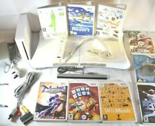 Nintendo Wii Console Bundle - Wii Fit Board & Games – Fitness Workout Gaming