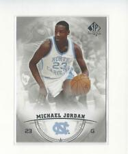 2013-14 SP Authentic #15 Michael Jordan North Carolina UNC Bulls